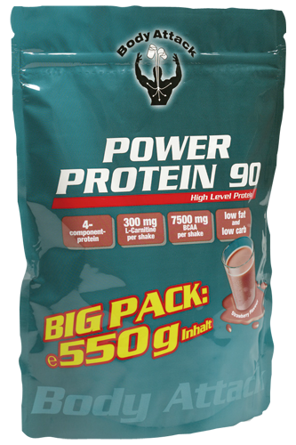 power protein 90 von body attack im 550g ziplock beutel 3er pack 1650g. Black Bedroom Furniture Sets. Home Design Ideas