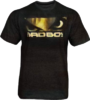 Bad Boy Eyes Gold Tee - T-Shirt von der MMA Fighter Marke Bad Boy