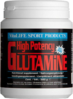 High Potency Glutamin von Vitalife - 100% Glutamin Pulver (500g Dose)