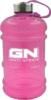 Water Bottle, 2,2 l Trinkflasche, half Gallon, BPA free, WaterJug von GN (Farbe: pink / transparent)